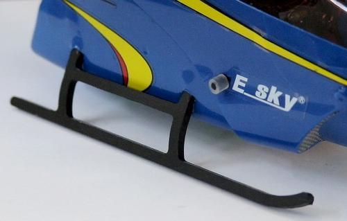 trem de pouso reforçado esky lama v4 4ch helicóptero - peças