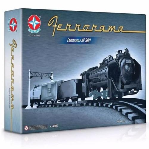 trem ferrorama modelo xp 300 original da estrela