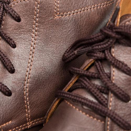 tremendo scarpe bota baja botita hombre cuero negra marron