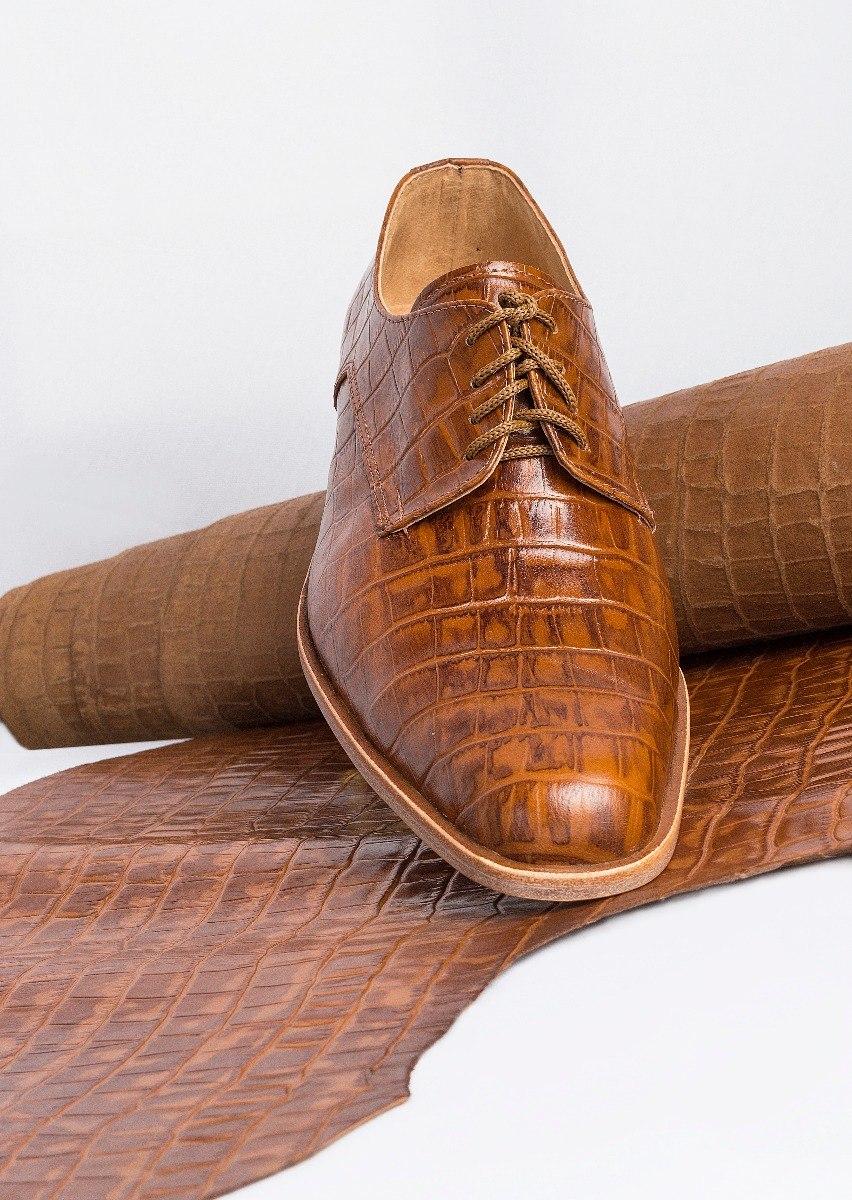 8fea8f75b8 tremendo scarpe zapato hombre marron suela sport cocodrilo. Cargando zoom.