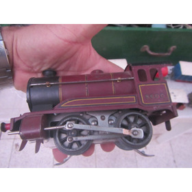 Tren Antiguo Juguete Electrico Hornby Meccano
