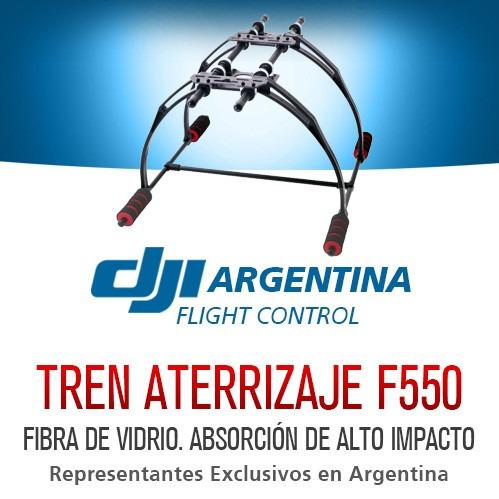 tren aterrizaje dji drone f450 y f550 patas fibra de vidrio
