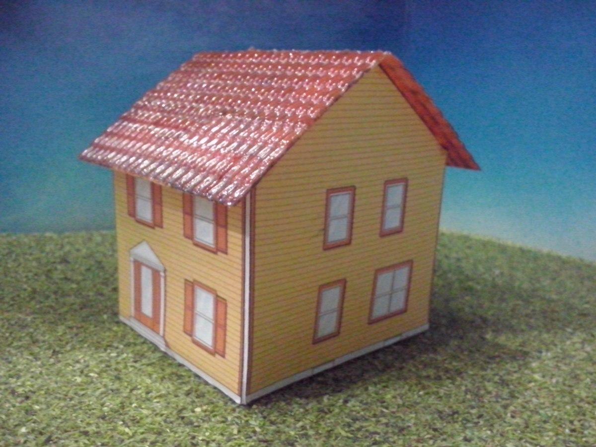 Como hacer casa de carton para maquetas car pictures tren - Como hacer una maqueta de una casa ...
