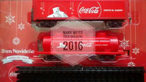 tren coca cola navideño 2016 colección completa 3 cajas