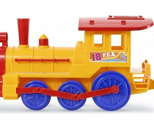 tren con vagon de pasajeros calesita  gigante 88 cms !!!