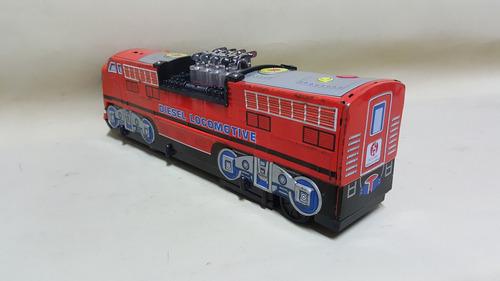 tren de colección antiguo en hojalata marca fu yi toy taiwan