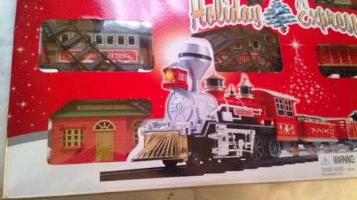 tren de navidad