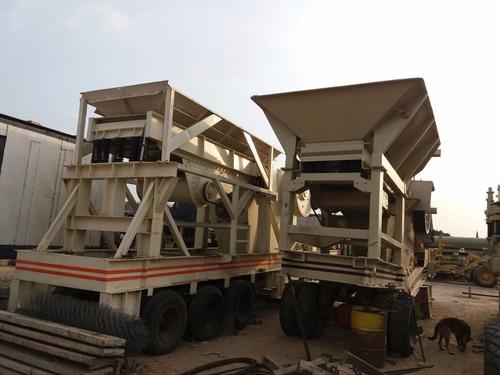 tren de trituracion cono quijada criba y transportadores