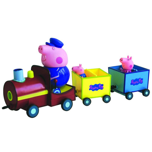 tren del abuelo pig