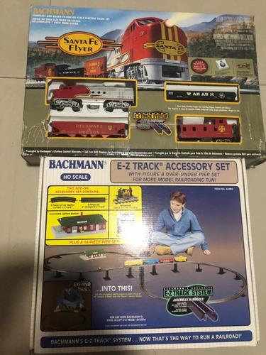 tren eléctrico escala ho americano bachmann