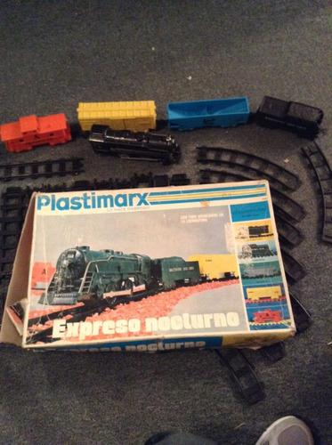 tren electrico plastimarx