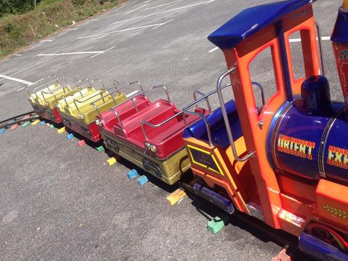 tren eléctrico tren mecánico tren infantil