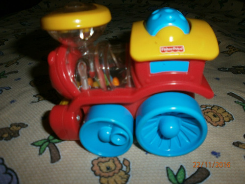 tren fisher price