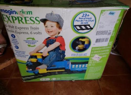 tren grande para niños