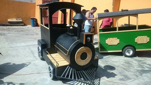tren infantil turístico 2015