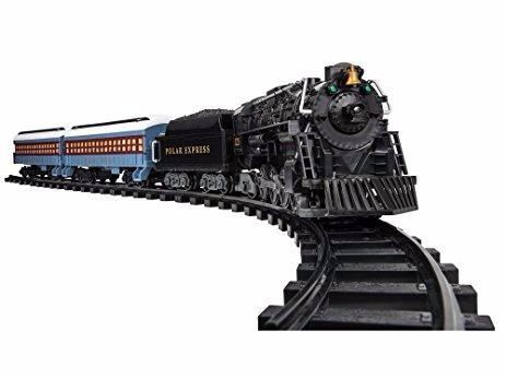 tren lionel polar express ready to play train set + 12 vias
