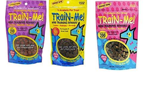 ¡tren loco del perro-yo! entrenamiento recompensa dog treat
