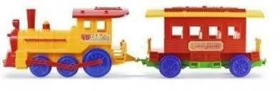 tren locomotora con vagon de rueda libre rivaplast cuerpos d