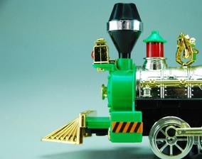 Locomotora Gira Sonido Luz Choca Juguete Y Niños Tren Regalo m8Pyv0nwNO