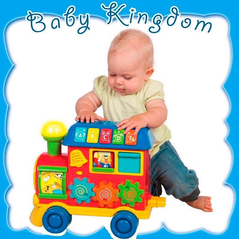 Tren Para Bebe De 1 2 3 Anos Juego Didactico Interactivo Luz