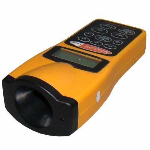 trena digital a laser medição a distância alcance 18 metros