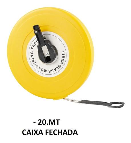 trena fibra de vidro 20 metros tipo caixa fechada eda 7gp
