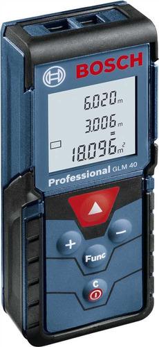 trena laser 40m glm 40 ip 54 - bosch