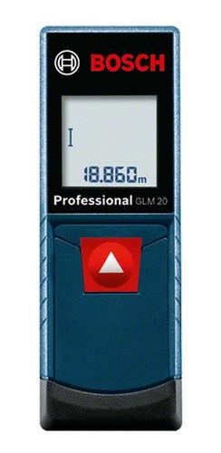 trena / medidor a laser glm20 20m bosch