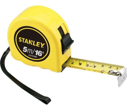 trena metrica basica 5 metros stanley - stht33989