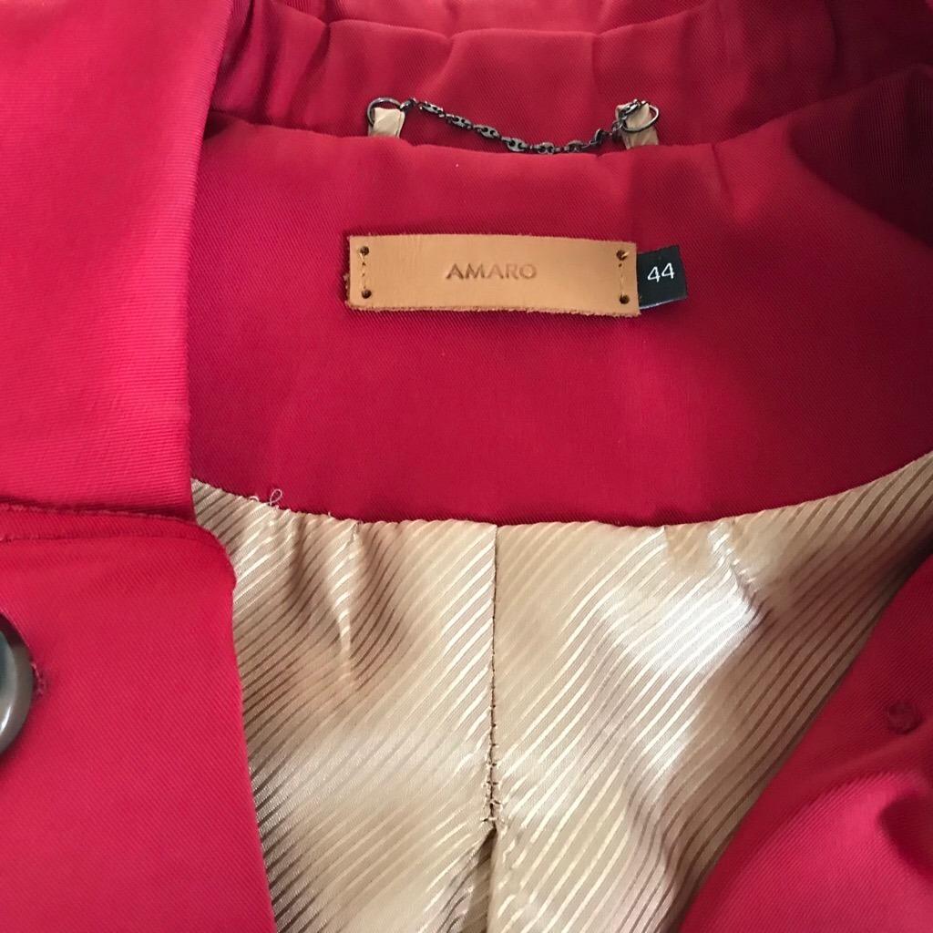03bce8758d trench coat london breeze (vermelho) original - amaro. Carregando zoom.