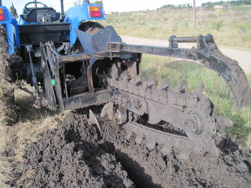 trencher , zanjeadora para tractor