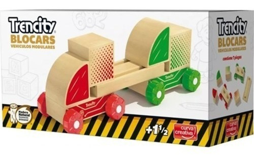 trencity blocars dobles vehiculo modular auto madera cuotas