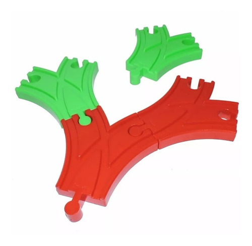 trencity desvios tren plastico abs compatible thomas