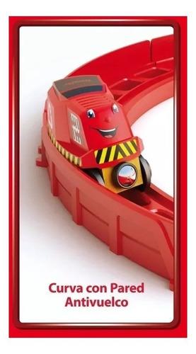 trencity kit avanzado pista 8 tren madera 18 piezas full edu