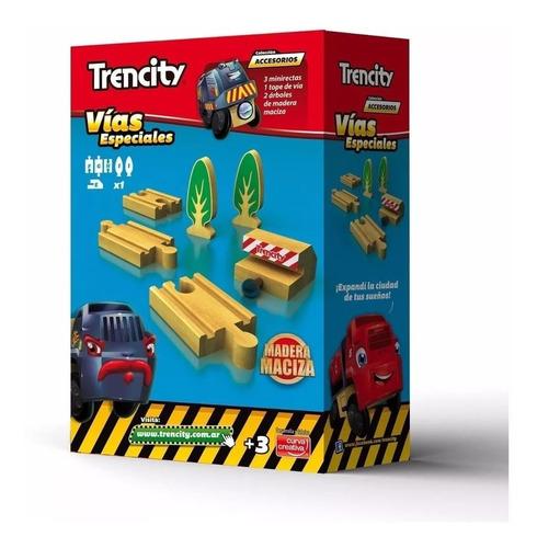 trencity p/ tren vias especiales compatible thomas