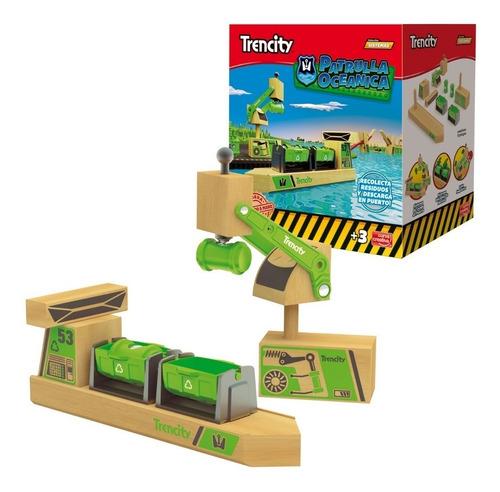 trencity patrulla oceanica madera plastico puerto 9015072