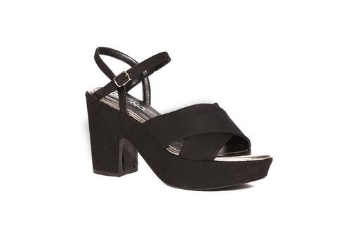 trender sandalia de plataforma y tiras 9001994