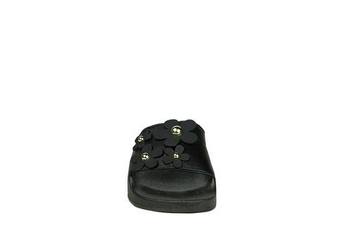 trender sandalia para mujer color negro con detalle de