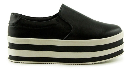 trender slip on semi puntal color negro