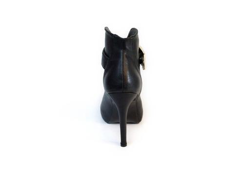 trender zapatilla boca de pescado negro 9690059