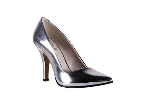 trender zapatilla stiletto plata espejo