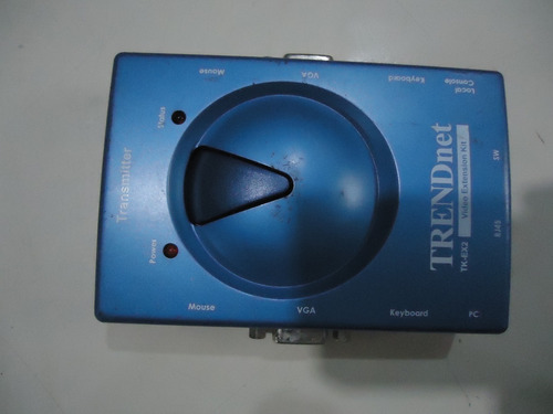 trendnet tk-ex2 cat5 knv kit de extensão de vídeo