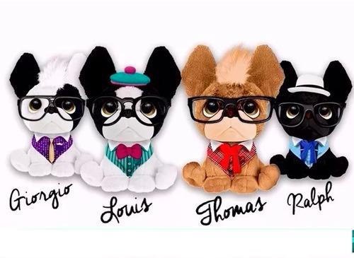 trendy dogs colección 4 peluches de perritos perfumados inte