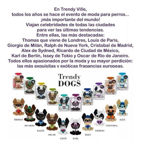 trendy dogs thomas peluche perfumado nuevos vavi toys