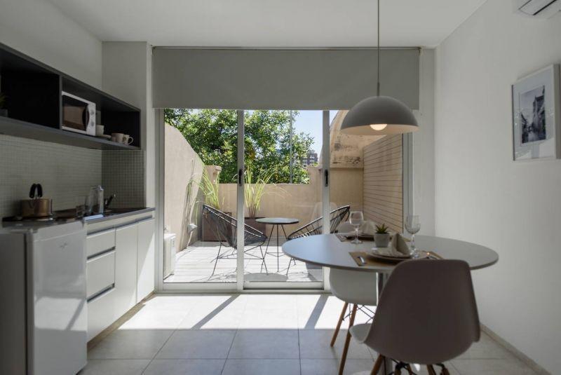 trendy studio con balcon en nva córdoba!