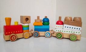 Toy Juguete Us Madera R Trenecito WrdxeBCo