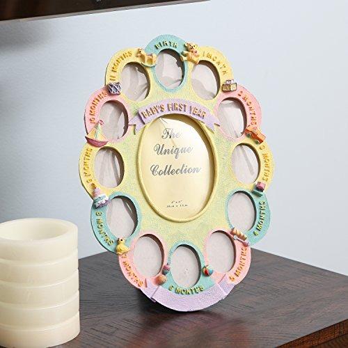 Trenton Gifts Baby Keepsake Frame Baby Collage Frame