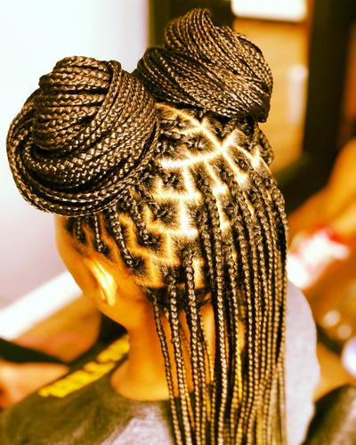 trenza africana