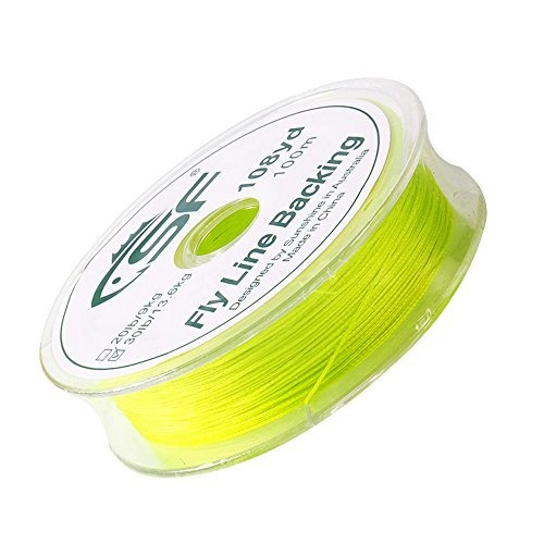 trenzado sf fly trucha line backing line 30lb 100mm / yds ha