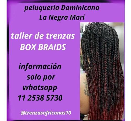 trenzas africanas dominicanas con extenciones incluidas !!!!